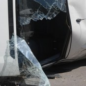 Фотофакт: серьезная авария на Новом Строении (ВИДЕО)