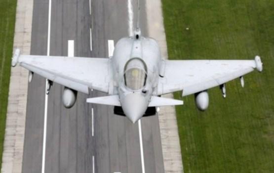 В Эстонии истребитель НАТО по ошибке запустил боевую ракету