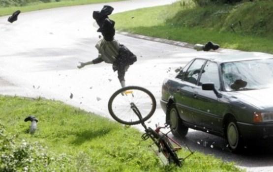 Госполиция: за сутки в результате ДТП пострадали два велосипедиста