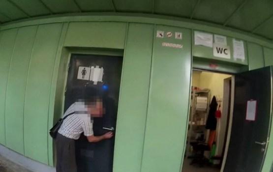 Пьяный охранник скейт-парка запер девочку в общественном туалете