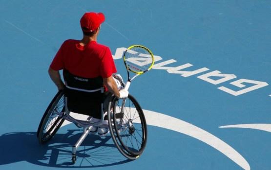 В Риге пройдет крупнейший международный турнир по колясочному теннису