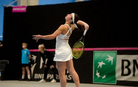 Севастова победила россиянку и вышла в 1/8 финала US Open