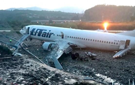 Раскрыта вероятная причина аварии с загоревшимся самолетом в Сочи (ВИДЕО)