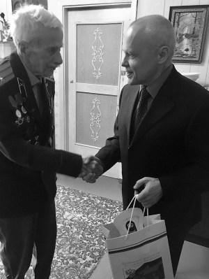 Умер старейший ветеран войны Леонид Михайлович Попов