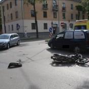 В центре города сбили мотоциклиста