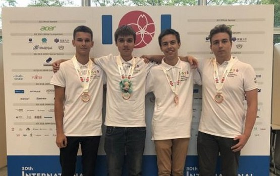 Латвийские школьники завоевали 4 медали на Всемирной олимпиаде по информатике