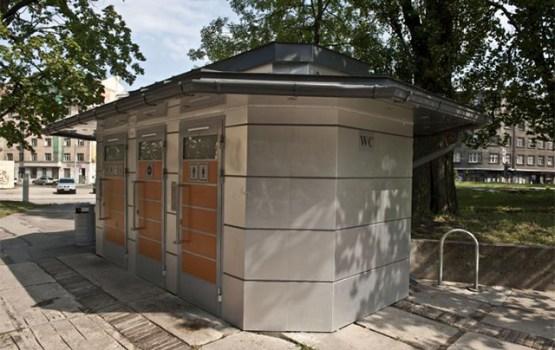 В Даугавпилсе планируют привести в порядок старые и установить новые стационарные туалеты