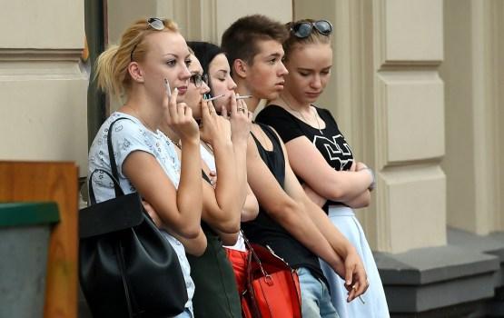 Половина правонарушений среди несовершеннолетних связана с курением