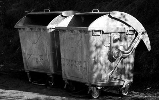 Безобразие с мусорниками