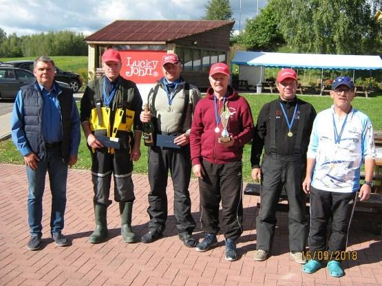 Даугавпилчане – первые на чемпионате по спиннингу с лодки