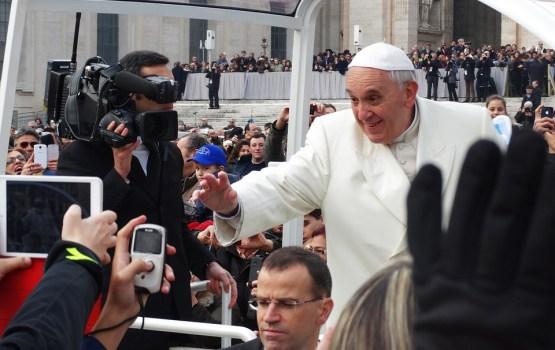 Папа призвал литовскую молодежь плыть против течения индивидуализма