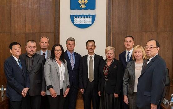 В Даугавпилс явилась делегация самоуправления Харбина