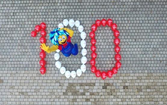 Флешмоб «Латвии – 100» продолжается. Мы тоже участвуем!