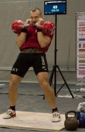 Чемпионат мира по гиревому спорту в Даугавпилсе (ВИДЕО)