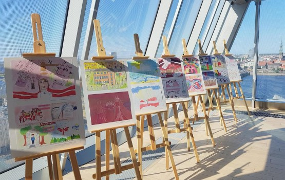В ЛЦБ представят работы школьников на тему «Моя Конституция»