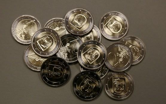Банк Латвии 23 октября выпустит коллекционную «Гербовую монету»