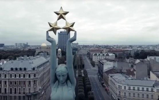 Подарок к столетию: за четыре минуты показали вековую историю Латвии