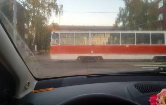 Опять авария с трамваем