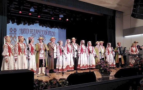 На ХХІІ Празднике белорусской песни в Литве