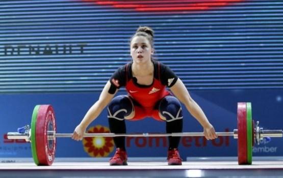 Штангистка Ребека Коха - бронзовый призер чемпионата мира