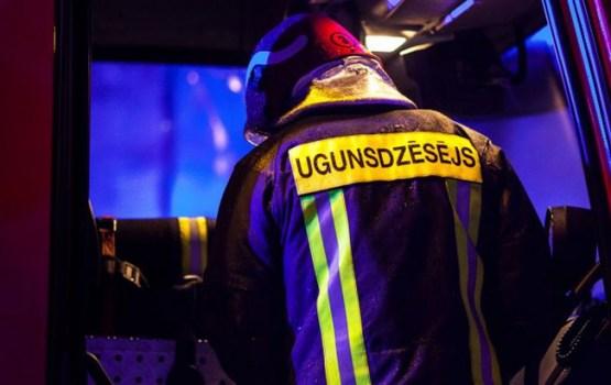 В Резекне в пожаре пострадали четыре человека