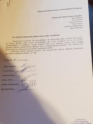 Латгальская партия повторно выносит вопрос об ограничении полномочий мэра