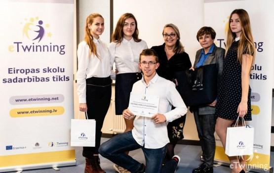 Проекты, созданные командой 16-ой средней школы, оценили в Европе