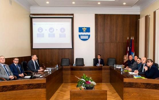 AS Sadales tīkls презентовало самоуправлению план работы на 2019 год