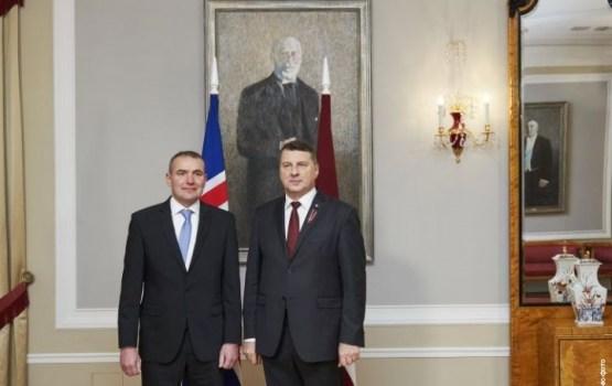 Вейонис благодарен: Исландия первая признала нашу независимость