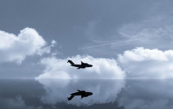 У морской границы Латвии замечен российский военный самолет