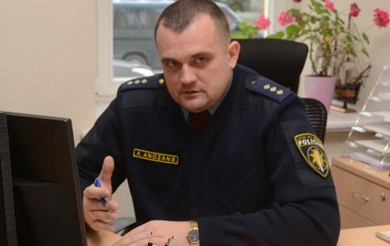 Андрей Анджанс – полицейский по призванию