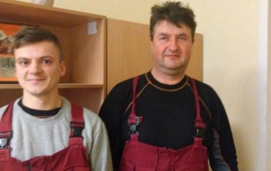 Латгалия: монтажники спасли тонущего рыбака
