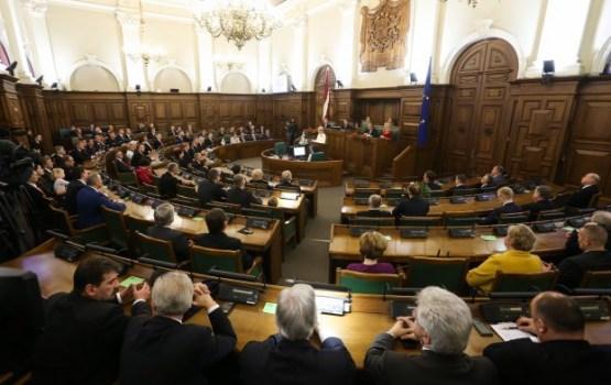 """""""Латышские националисты"""" требуют внечеоредных выборов в Сейм"""