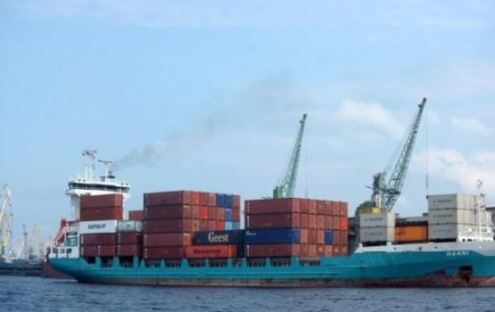 Перевалка грузов в портах Латвии за год увеличилась почти на 7%