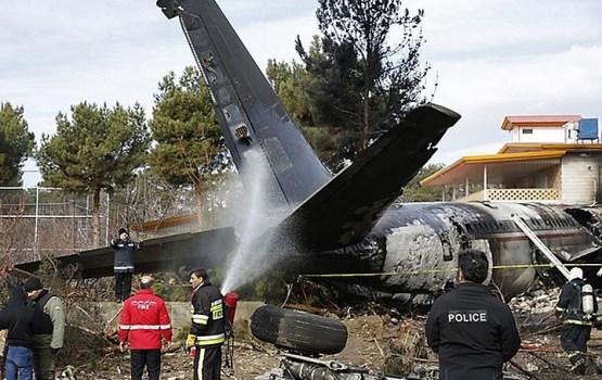 Летевший из Бишкека грузовой Boeing 707 разбился под Тегераном