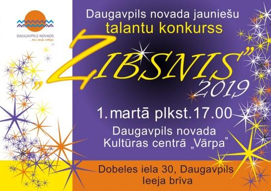 """Daugavpils novada jaunieši piedalīsies talantu konkursā """"Zibsnis"""""""