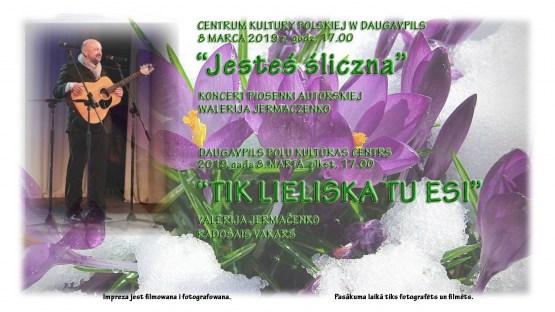 Poļu kultūras centrs aicina uz Sieviešu dienai veltītu svētku koncertu