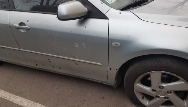 Машину взорвали боевой гранатой