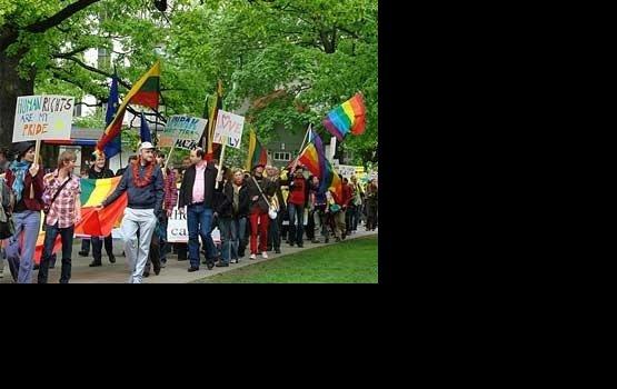 Суд отменил гей-парад в Вильнюсе