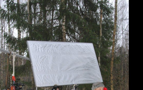 Киношники вышли из латгальского тумана