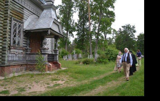 Куда переедет  деревянная церковь?
