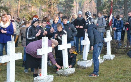 День Лачплесиса: в Даугавпилсе вспоминают воинов