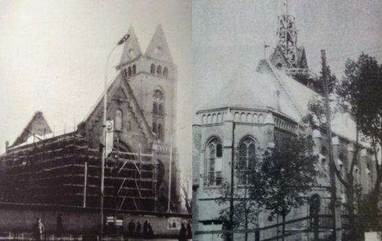 27 мая 1995 года: лютеранскую кирху подвели под крышу, но деньги кончились…