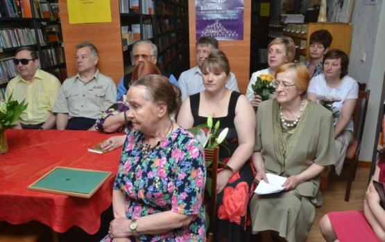 Даугавпилсской библиотеке для незрячих – 50 лет