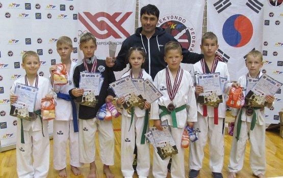 В Айзкраукле завоевали 13 медалей