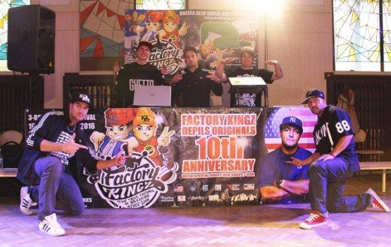 Кена Свифта впечатлил юбилейный фестиваль Factory Kingz