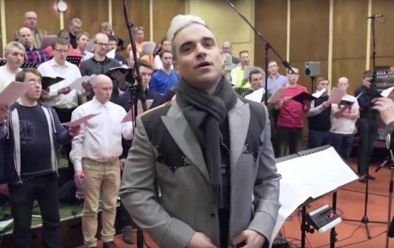 Мужской хор РТУ записал песню с Робби Уильямсом