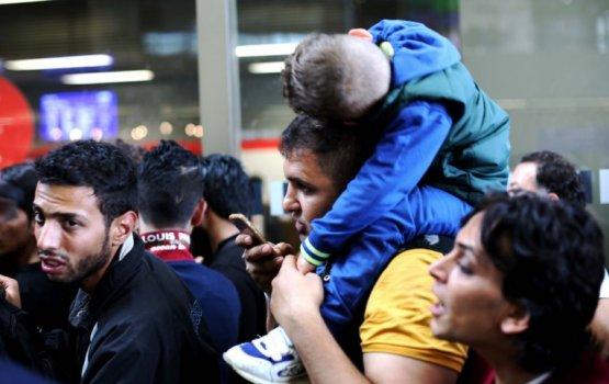 В Латвию перемещены три сирийские семьи, в том числе дети