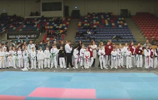 В Даугавпилсском Олимпийском центре прошел Международный турнир по тхэквондо