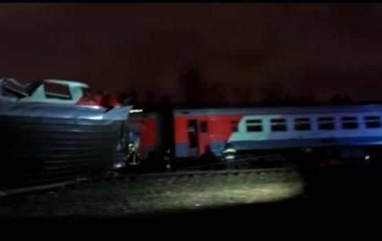ЧП в Москве: в результате столкновения поезда и электрички пострадали более 20 человек